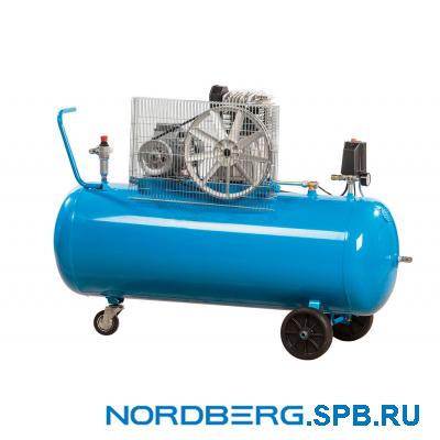 Компрессор поршневой с ременным приводом Nordberg NC200/480