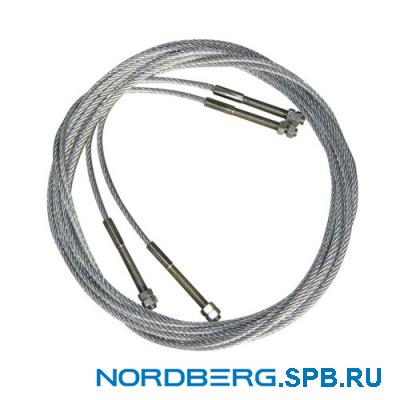 Трос для подъемника Nordberg 4440T