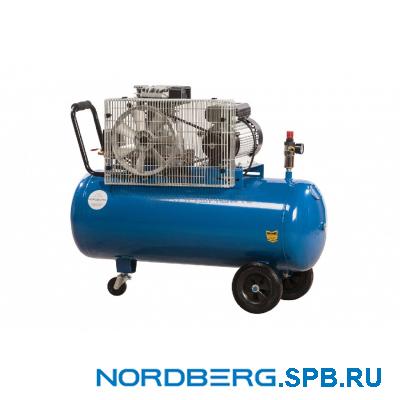 Компрессор поршневой с ременным приводом Nordberg ECO NCE100/400-220