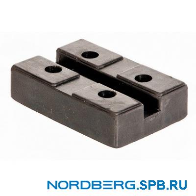 Насадка для подъемника, резиновая Nordberg 1017