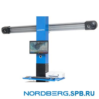 Стенд сход-развал с двумя камерами 3D, стойка ±1,3 м (черная) Nordberg C802PIT