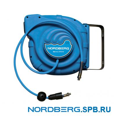 Шланг на самоскручивающейся катушке Nordberg 2125-08