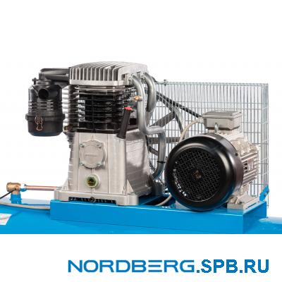 Компрессор поршневой с ременным приводом Nordberg NC500/1200