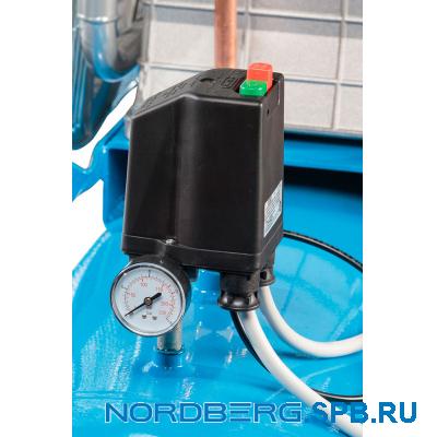 Компрессор поршневой с ременным приводом Nordberg NC500/1400
