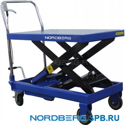 Подъемный гидравлический стол, г/п 750 кг Nordberg N3T750