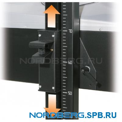 Установка проверки и регулировки светового потока фар Nordberg NTF3