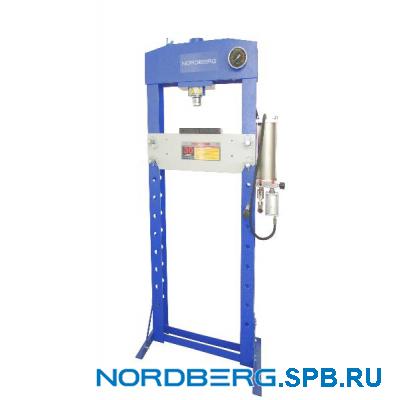Пресс пневмогидравлический, усилие 30 тонн Nordberg N3630A