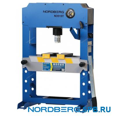 Пресс гидравлический, усилие 15 тонн Nordberg N3515T PRO