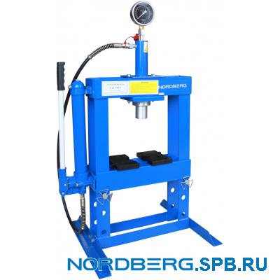 Пресс настольный, усилие 10 тонн Nordberg N3610