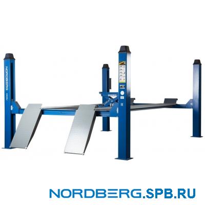 Подъемник четырехстоечный 5 тонн Nordberg 4450