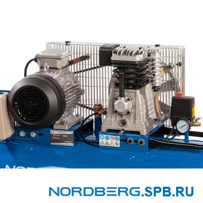 Компрессор поршневой с ременным приводом Nordberg ECO NCE200/660
