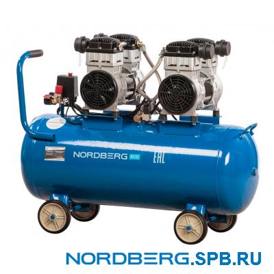 Компрессор поршневой безмаслянный Nordberg ECO NCEO100/400