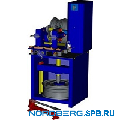 ДИСКОПРАВ для прокатки и правки стальных дисков Nordberg 601A