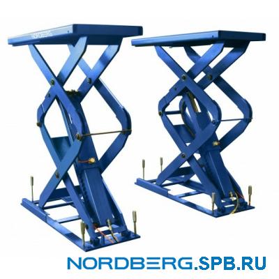 Подъемник ножничный электрогидравлический 3,5 тонны Nordberg N631-3.5