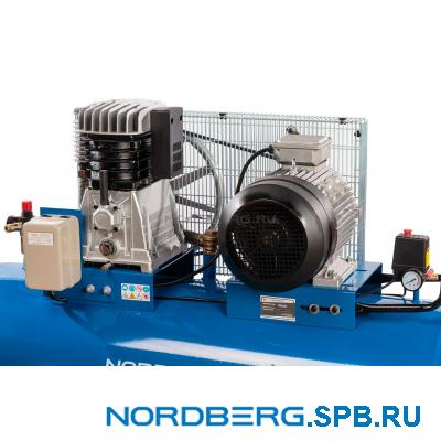 Компрессор поршневой с ременным приводом Nordberg ECO NCE300/1050