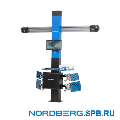 Стенд сход-развал с двумя камерами 3D Nordberg C802