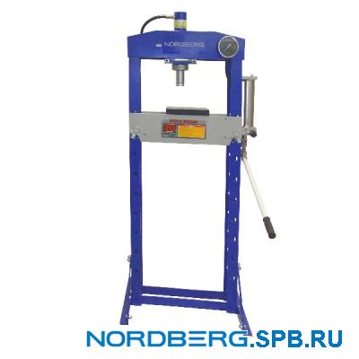 Пресс гидравлический, усилие 20 тонн Nordberg N3620