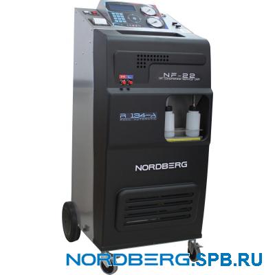 Автоматическая установка для заправки автомобильных кондиционеров Nordberg NF22