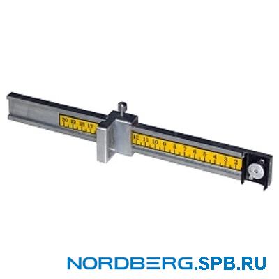 Линейка для монтажа грузиков Nordberg 6008833