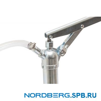 Насос ручной рычажный для раздачи масла из ведер об. 20 л Nordberg NO4020
