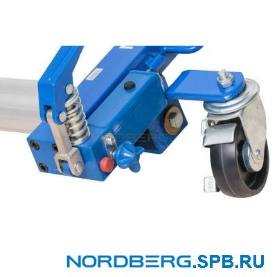 Домкрат подкатной для перемещения автомобиля, 680 кг Nordberg N3S2