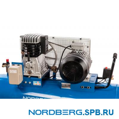 Компрессор поршневой с ременным приводом Nordberg ECO NCE300/810