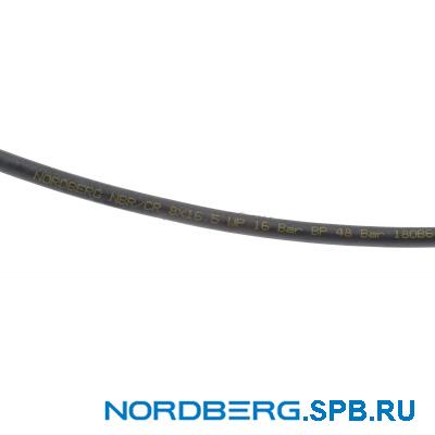 Шланг воздушный резиновый NBR/CR Ø10х16,5 мм, бухта 30 м Nordberg H1018NBR_30