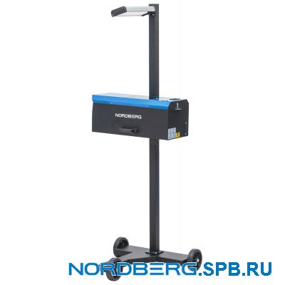 Установка проверки и регулировки светового потока фар Nordberg NTF1