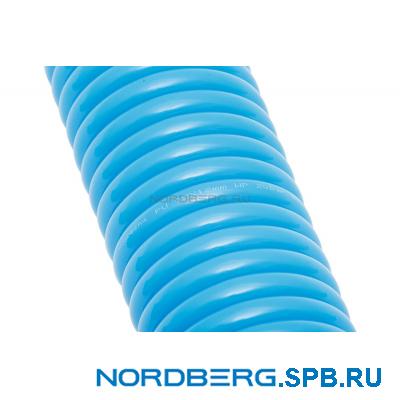 Шланг полиуретановый спиральный 8х12 мм с быстросъемными переходниками, 15 м Nordberg HS0815PU