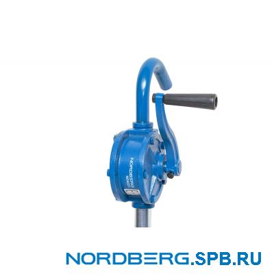 Насос ручной роторный для раздачи масла из бочек об. 60-220 л Nordberg NO4221