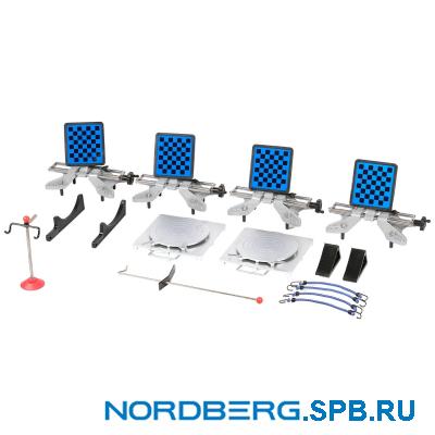 Стенд сход-развал 3D с четырьмя камерами Nordberg C804