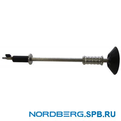 Молоток обратный пневматический для кузовных работ с присоской Nordberg F001