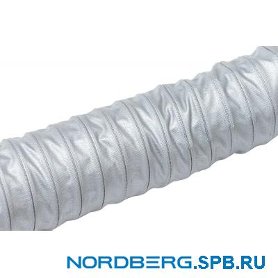 Шланг газоотводный, D=100 мм, длина 7 м (серый) Nordberg HF102G07