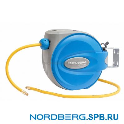 Шланг на самоскручивающейся катушке Nordberg HR1015HPVC