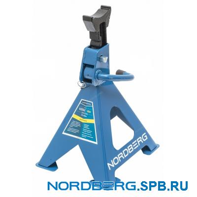 Стойка механическая под авто, 6 тонн Nordberg N3006E