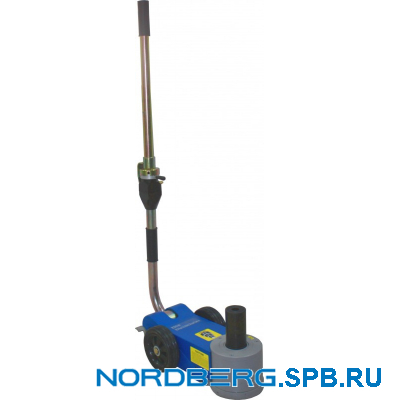 Домкрат подкатной пневмогидравлический, 30 тонн Nordberg N302
