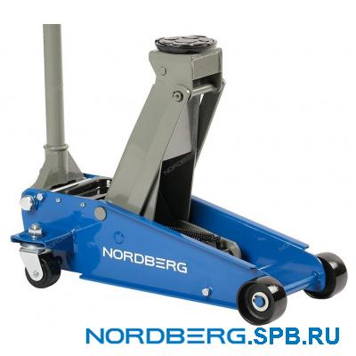 Домкрат подкатной 3 тонны Nordberg N32030