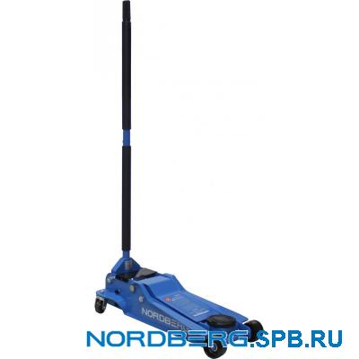 Домкрат подкатной 3,5 тонны Nordberg N32035