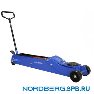 Домкрат подкатной 5 тонн Nordberg N3205N