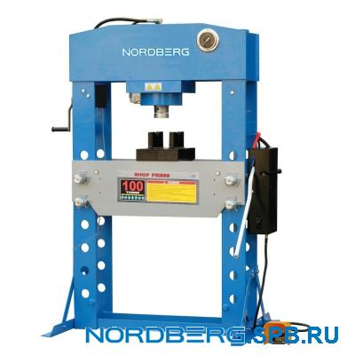 Пресс пневмогидравлический, усилие 100 тонн Nordberg N36100A