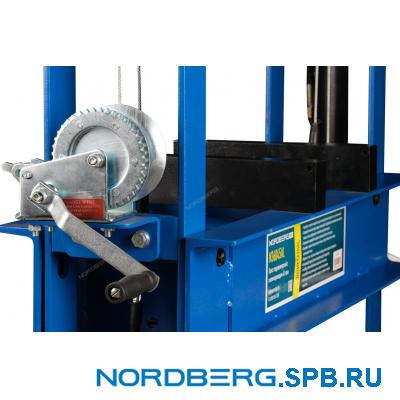 Пресс пневмогидравлический, усилие 45 тонн Nordberg N3645AL