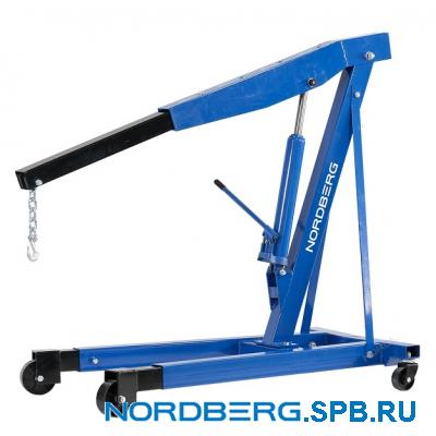 Кран гидравлический складной, 3 т Nordberg N3730