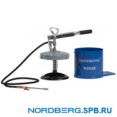 Установка для раздачи густой смазки ручная Nordberg N5008