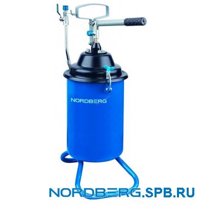 Установка для раздачи густой смазки ручная Nordberg N5012