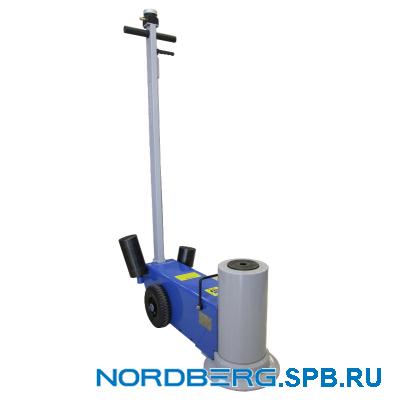 Домкрат подкатной пневмогидравлический, 60 тонн Nordberg N601