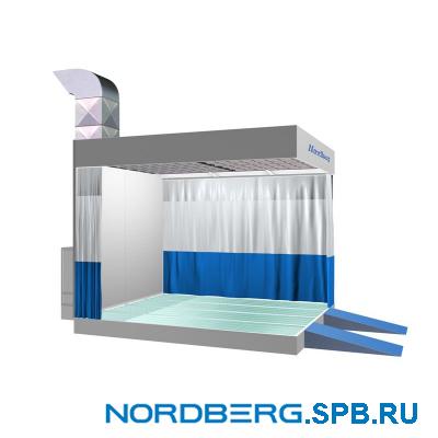 Пост подготовки к окраске Nordberg NB300B