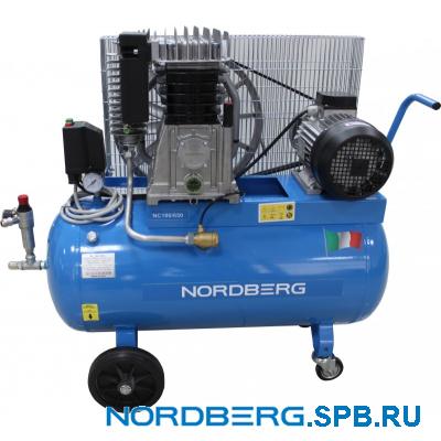 Компрессор поршневой с ременным приводом Nordberg NC100/650