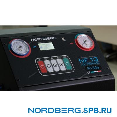 Автоматическая установка для заправки автомобильных кондиционеров Nordberg NF13