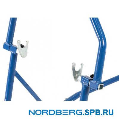 Мотоподкат для переднего колеса г/п 300 кг Nordberg NMSF