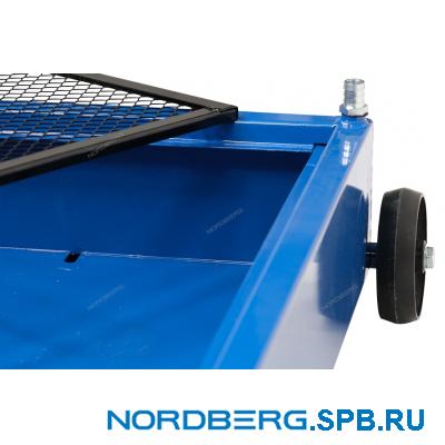 Емкость для сбора масла на колесах 58 л Nordberg NO2358